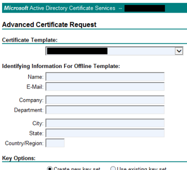 Solved] The certificate's template doesn't show up for web enrollment