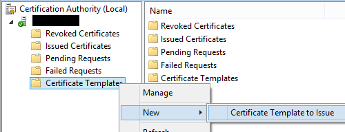 How to publish a certificate template lukes it blog yadclub Choice Image