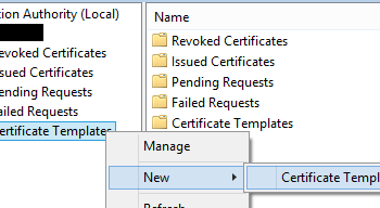 How to open the certificate templates console lukes it blog how to publish a certificate template yadclub Images