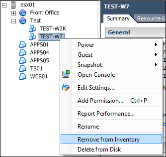 How to unregister and register VMs again with WMware PowerCli